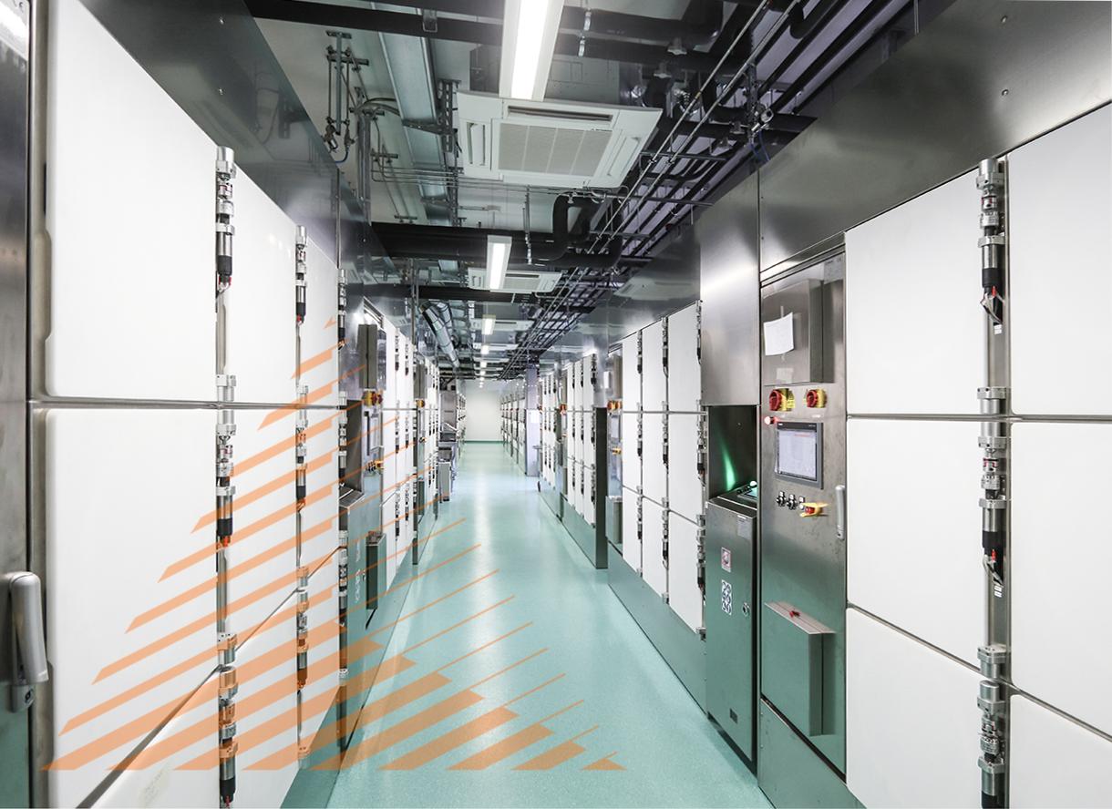 Codon - Neue Produktionsstaette in Leipzig.