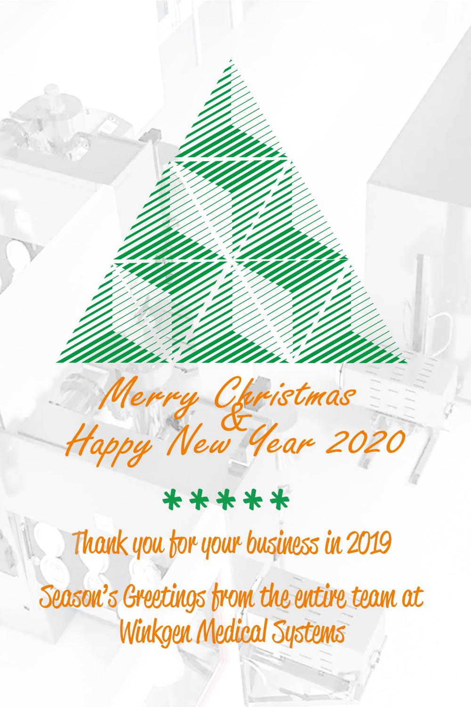 Weihnachtsgrüße Winkgen Medical Systems